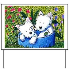 Flowerbed WESTIES Yard & Garden Art