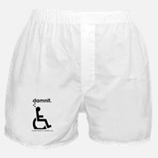 damnit.wheelchair Boxer Shorts
