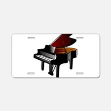 Cute Keyboard Aluminum License Plate