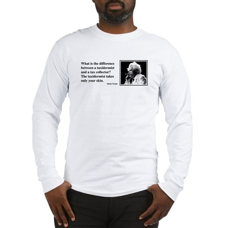 Twain on Taxes Long Sleeve T-Shirt