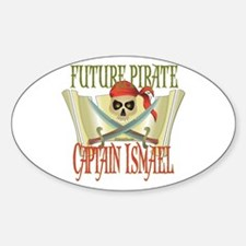 Captain Ismael Oval Decal