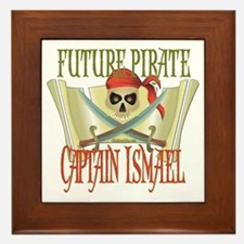 Captain Ismael Framed Tile