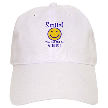 Atheist Smiley Cap