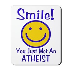 Atheist Smiley Mousepad