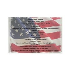 Pagan Military Blessing Magnet (10 pack)