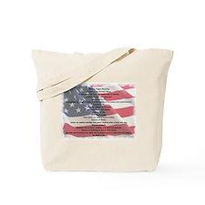 Pagan Military Blessing Tote Bag