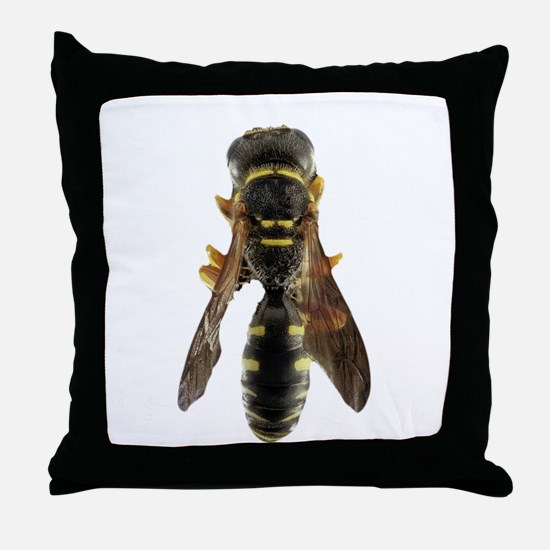 Wasp Insect Throw Pillow
