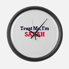 Trust Me, I'm Sarah Large Wall Clock