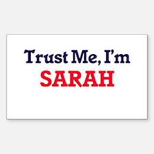 Trust Me, I'm Sarah Decal