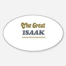 Isaak Oval Decal