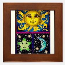 Celestial skies Framed Tile