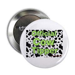 Official Cow Tipper Button