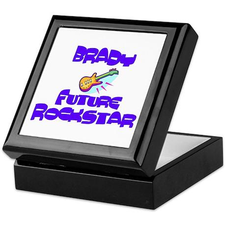 Brady - Future Rock Star Keepsake Box
