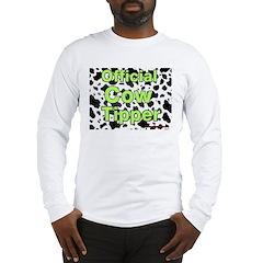 Official Cow Tipper Long Sleeve T-Shirt