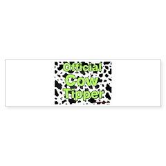 Official Cow Tipper Bumper Bumper Sticker