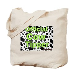 Official Cow Tipper Tote Bag