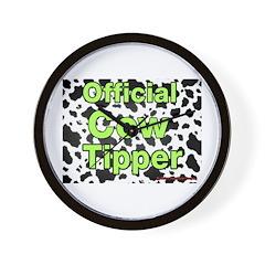 Official Cow Tipper Wall Clock