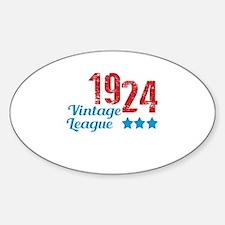 1924 Vintage League Decal