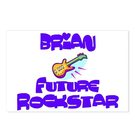 Brian - Future Rock Star Postcards (Package of 8)