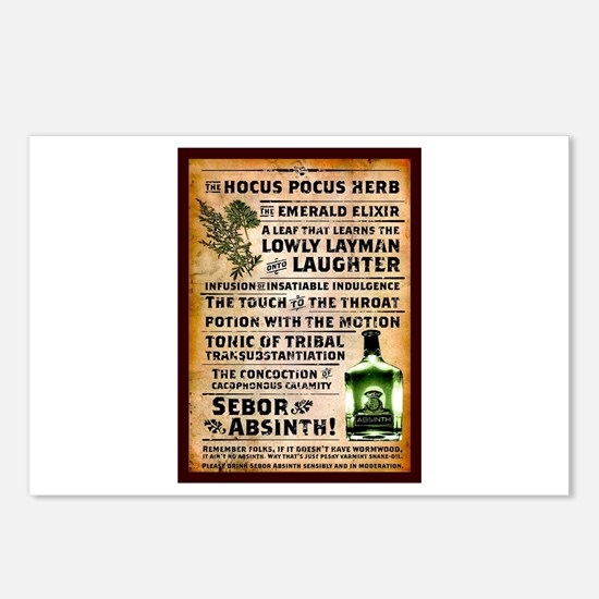 Cool Absinthe Postcards (Package of 8)