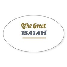 Isaiah Oval Decal