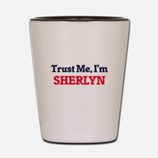 Trust Me, I'm Sherlyn Shot Glass