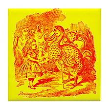 Alice & Dodo Tile Coaster