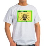 Lyme Disease Is Icky Ash Grey T-Shirt