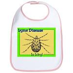 Lyme Disease Is Icky Bib