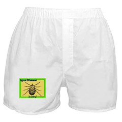 Lyme Disease Is Icky Boxer Shorts