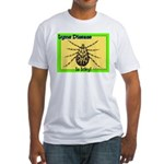Lyme Disease Is Icky Fitted T-Shirt