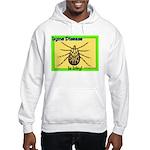 Lyme Disease Is Icky Hooded Sweatshirt