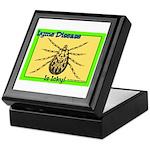 Lyme Disease Is Icky Keepsake Box