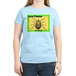 Lyme Disease Is Icky Women's Pink T-Shirt