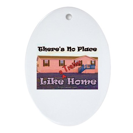 No Place Like Home Keepsake (Oval)