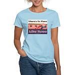 No Place Like Home Women's Pink T-Shirt