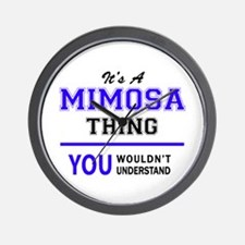 It's MIMOSA thing, you wouldn't underst Wall Clock