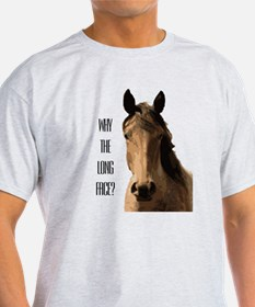 HorseLongFace-Bk T-Shirt