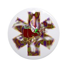 EMS Holiday Gifts and Shirts Ornament (Round)