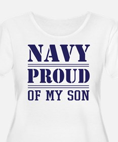US Navy Proud Of My Son Plus Size T-Shirt
