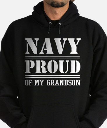 U.S. Navy Proud Of Grandson Hoodie