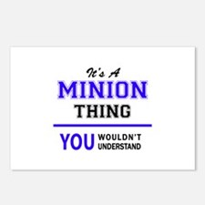 It's MINION thing, you wo Postcards (Package of 8)