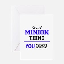 It's MINION thing, you wouldn't und Greeting Cards