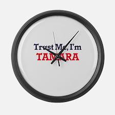 Trust Me, I'm Tamara Large Wall Clock
