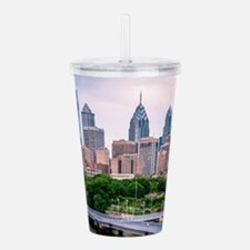 Philadelphia skylight Acrylic Double-wall Tumbler
