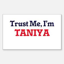 Trust Me, I'm Taniya Decal