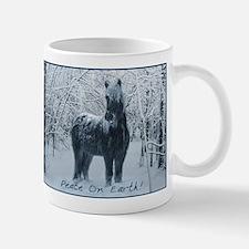 Winter horse. Christmas horse Mug