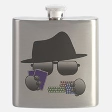 Unique Poker player Flask