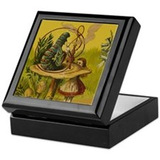 The Hookah-Smoking Caterpillar Keepsake Box