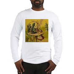 The Hookah-Smoking Caterpillar Long Sleeve T-Shirt